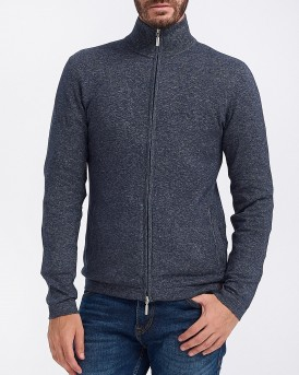 ΖΑΚΕΤΑ KNITTED JACKET WITH STAND-UP COLLAR ΤΗΣ TOM TAILOR - 1012914.XX.10