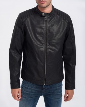 ΔΕΡΜΑΤΙΝΟ P.U JORNEW ORIGINALS BIKER TEDDY ΤΗΣ JACK & JONES - 12158755