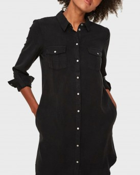 ΠΟΥΚΑΜΙΣΑ LONG SLEEVED SHIRT DRESS THΣ VERO MODA - 10206339 ΝΟΟS