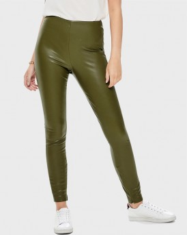 LEATHER LOOK LEGGINGS ΤΗΣ ONLY - 15168108