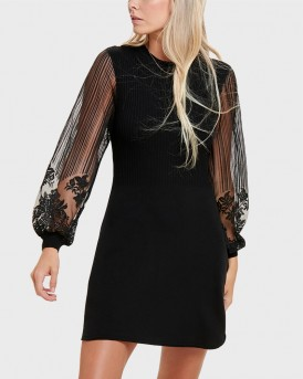 MESH SLEEVES DRESS ΤΗΣ ONLY - 15189074