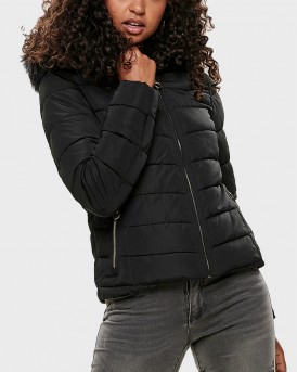 SHORT QUILTED JACKET ΤΗΣ ONLY - 15158943