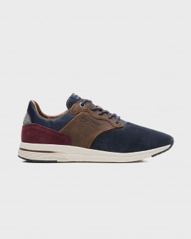 SPLIT LEATHER SNEAKERS JAYKER LTH MIX ΤΗΣ PEPE JEANS - ΡMS30578 JAYKER