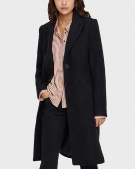 LONG WOOL JACKET ΤΗΣ VERO MODA - 10183425