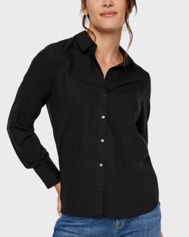 FITTED LONG SLEEVED SHIRT ΤΗΣ VERO MODA - 10218724
