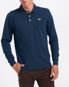 ΠΟΛΟ MAN POLO L/S PIQUET STRETCH ΤΗΣ LA MARTINA - CCMP04