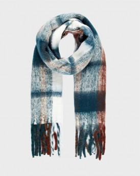 CHEQUERED KNITTED SCARF ΤΗΣ VERO MODA - 10217636