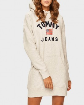 ΦΟΥΤΕΡ TJ LOGO DETAIL HOODY DRESS ΤΗΣ TOMMY HILFIGER - DW0DW07233