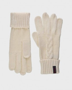 ΓΑΝΤΙΑ LANNAH CABLE GLOVES ΤΗΣ SUPERDRY - W9300005A