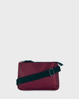 ΤΣΑΝΤΑ AMANDA CROSS BODY BAG BURGUNDY LEINSTER ΤΗΣ PAUL'S BOUTIQUE - AMANDA PBN127921