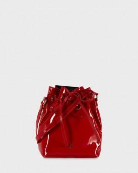 ΤΣΑΝΤΑ ELISE CROSSBODY BUCKET BAG RED KERSLAKE ΤΗΣ PAUL'S BOUTIQUE - ELISE PBN127950 - ΚΟΚΚΙΝΟ
