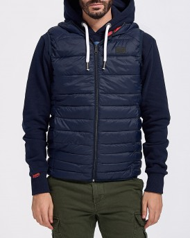 ΓΙΛΕΚΟ ESSENTIALS BOMB BODY WARMER HOOD ΤΗΣ JACK & JONES - 12156213