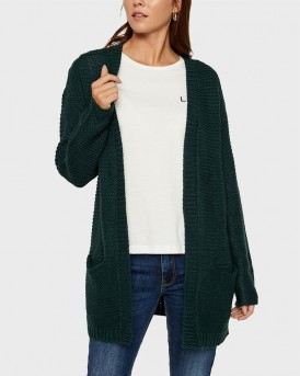OPEN FRONT KNITTED CARDIGAN ΤΗΣ VERO MODA - 10192372