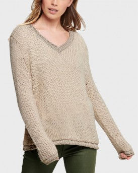 V-NECK KNITTED PULLOVER ΤΗΣ ONLY - 15184492