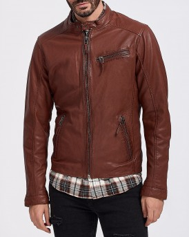 ΔΕΡΜΑΤΙΝΟ MICKY LEATHER JACKET ΤΗΣ OAKWOOD - MICKY 63391
