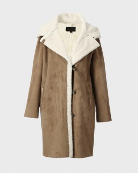 ΠΑΛΤΟ LON FAKE SHERLING COAT THΣ OAKWOOD - LEONE 63288 - ΤΑΜΠΑ