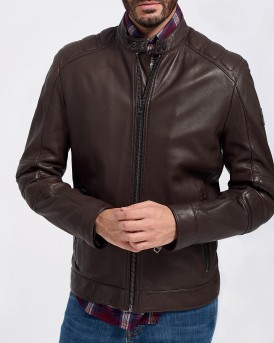 ΔΕΡΜΑΤΙΝΟ JAGSON LEATHER JACKET ΤΗΣ BOSS - 50414325 JAGSON