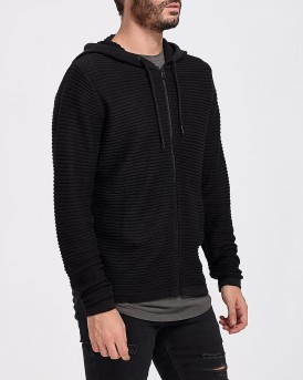 ΖΑΚΕΤΑ HOODED KNIT CARDIGAN ΤΗΣ JACK & JONES - 12154212 NOOS
