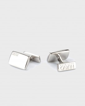 ΜΑΝΙΚΕΤΟΚΟΥΜΠΑ RECTANGULAR CUFFLINKS WITH FIX FASTENING THΣ HUGO - 50316380