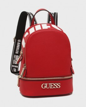 ΣΑΚΙΔΙΟ SKYE LOGO PRINT BACKPACK ΤΗΣ GUESS - VG741132