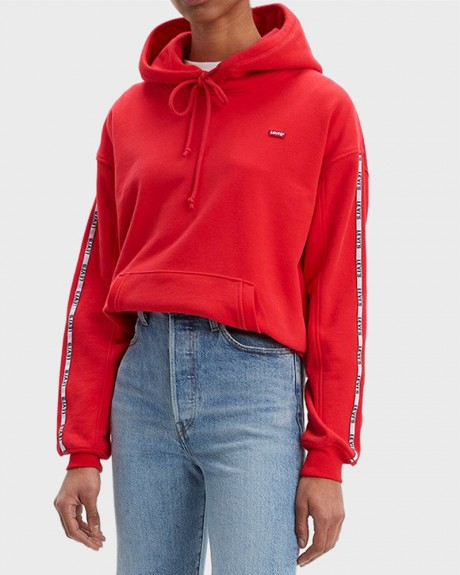 ΦΟΥΤΕΡ UNBASIC HOODIE BRILLIANT RED ΤΗΣ LEVIS - 74318-0024