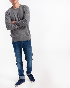 NEO KNIT RAGLAN CREW NECK SWEATER ΤΗΣ ONLY & SONS - 22009517 - ΓΚΡΙ