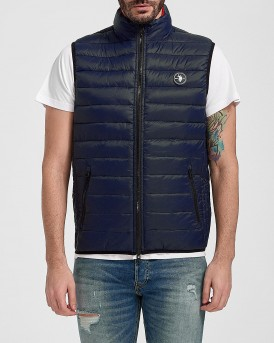 US POLO ΓΙΛΕΚΟ NEW USPA LIGHT PAD VEST - 55864-46019 - ΜΠΛΕ