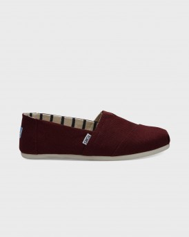 ΕΣΠΑΝΤΡΙΓΙΕΣ BLACK CHERRY CANVAS MEN'S CLASSICS VENICE COLLECTION TΗΣ TOMS - 10011717 - ΚΟΚΚΙΝΟ
