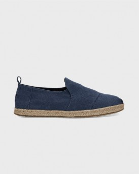 ΕΣΠΑΝΤΡΙΓΙΕΣ NAVY WASHED CANVAS MEN'S DECONSTRUCTED ALPARGATAS ΤΗΣ TOMS - 10011623 - ΜΠΛΕ