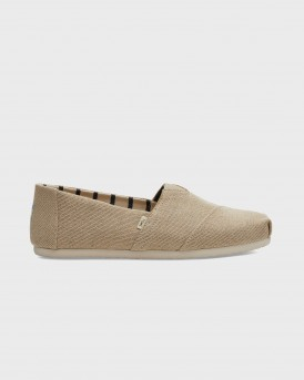 ΕΣΠΑΝΤΡΙΓΙΕΣ NATURAL HERITAGE CANVAS MEN'S CLASSICS VENICE COLLECTION TΗΣ TOMS - 10013550 - ΜΠΕΖ
