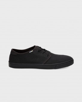 ΥΠΟΔΗΜΑΤΑ BLACK ON BLACK HERITAGE CANVAS MEN'S CARLO SNEAKER COLLECTION ΤΗΣ TOMS - 10012282 - ΜΑΥΡΟ