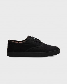 ΥΠΟΔΗΜΑΤΑ BLACK ON BLACK HERITAGE MEN'S CUPSOLE CORDONES VENICE COLLECTION ΤΗΣ TOMS - 10013532 - ΜΑΥΡΟ