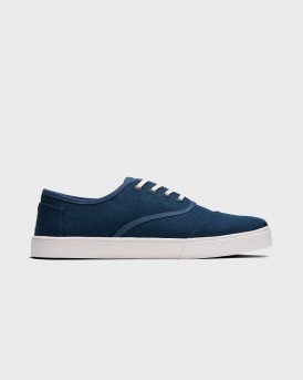 ΥΠΟΔΗΜΑΤΑ BLUE CANVAS MEN'S CUPSOLE CORDONES VENICE COLLECTION ΤΗΣ TOMS - 10015251 - ΜΠΛΕ