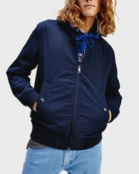 REVERSIBLE BOMBER JACKET ΤΗΣ TOMMY HILFIGER - MW0ΜW12231