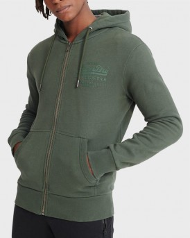 TONAL INJECTION ZIP HOODIE ΤΗΣ SUPERDRY - M2010155B - ΚΥΠΑΡΙΣΙ