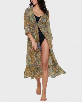 ΚΑΦΤΑΝΙ BEACH MAXI DRESS THΣ ONLY - 15196752