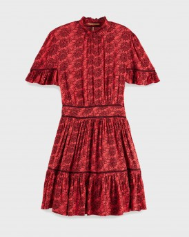 ΦΟΡΕΜΑ PRINTED VISCOSE DRESS ΤΗΣ MAISON SCOTCH - 155955