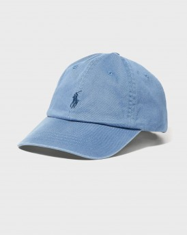ΚΑΠΕΛΟ COTTON CHINO BASEBALL CAP THΣ POLO RALPH LAUREN - 710548524003 - ΣΙΕΛ