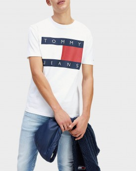 T-SHIRT TOMMY HERITAGE FLAG T-SHIRT ΤΗΣ TOMMY HILFIGER - DΜ0DM07009