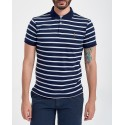 ΠΟΛΟ M CLASSICS SSL FRENCH NAVY POLO ΤΗΣ POLO RALPH LAUREN - 710755892011 - ΑΣΠΡΟ