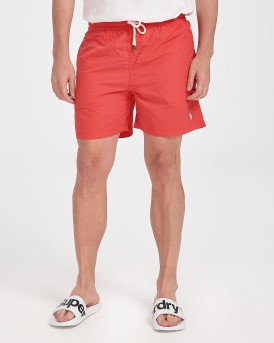 ΜΑΓΙΩ M CLASSICS RED TRAVELER SHORT THΣ POLO RALPH LAUREN - 710777751006 - ΚΟΡΑΛΛΙ