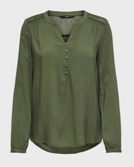 LOOSE FITTED BLOUSE ΤΗΣ ONLY - 15204614 - ΛΑΔΙ