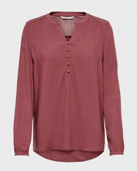 LOOSE FITTED BLOUSE ΤΗΣ ONLY - 15204614 - ΜΠΟΡΝΤΩ