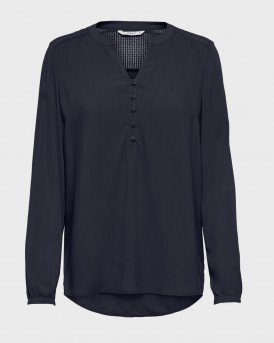 LOOSE FITTED BLOUSE ΤΗΣ ONLY - 15204614 - ΜΠΛΕ