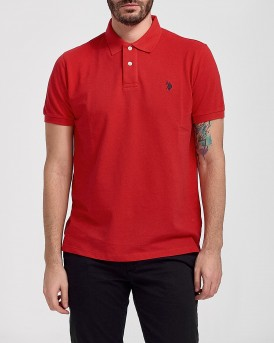 INSTITUTIONAL POLO THΣ US POLO - 55957 41029 - ΚΟΚΚΙΝΟ