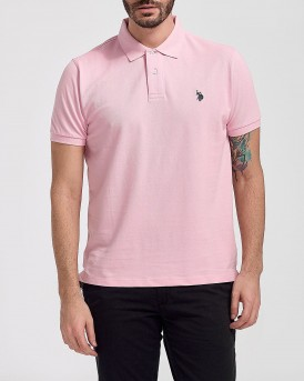 INSTITUTIONAL POLO THΣ US POLO - 55957 41029 - ΡΟΖ