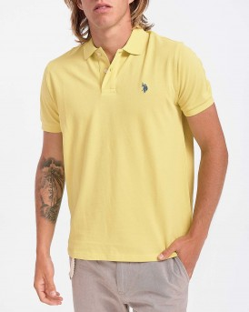 INSTITUTIONAL POLO THΣ US POLO - 55957 41029 - ΚΙΤΡΙΝΟ