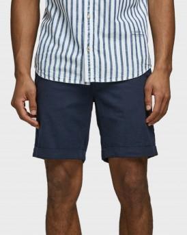 Jack & Jones Βερμούδα Clasic Chino Shorts - 12172143 - ΜΠΛΕ