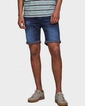 Jack & Jones Bερμούδα Rick Icon Denim Shorts - 12170014 - ΜΠΛΕ