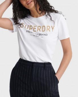 Superdry Entry Premium Sequin - W1010006A - ΑΣΠΡΟ